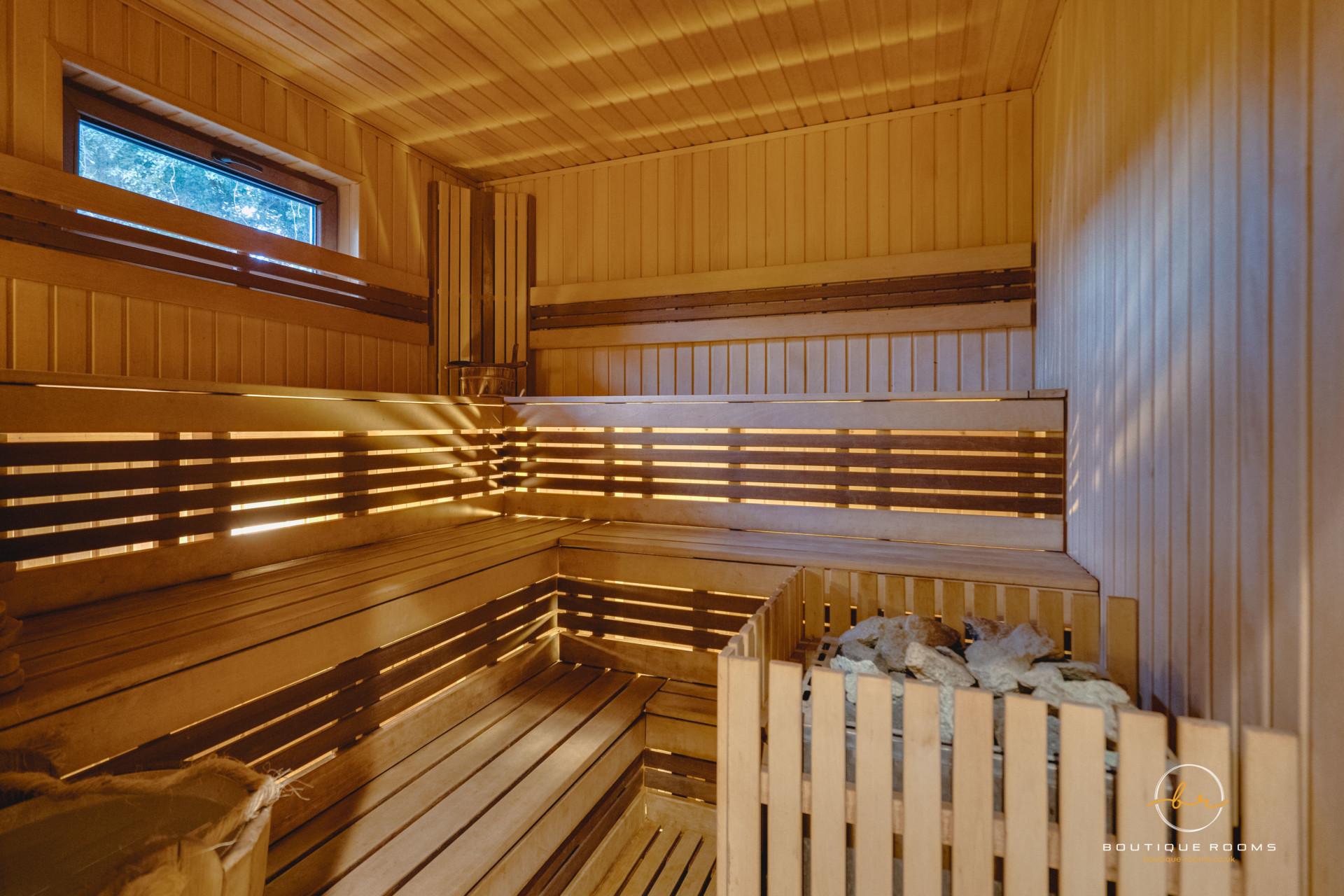 The Retreat sauna