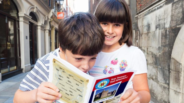 Child-friendly Day out in Cambridge with the treasure hunt trail